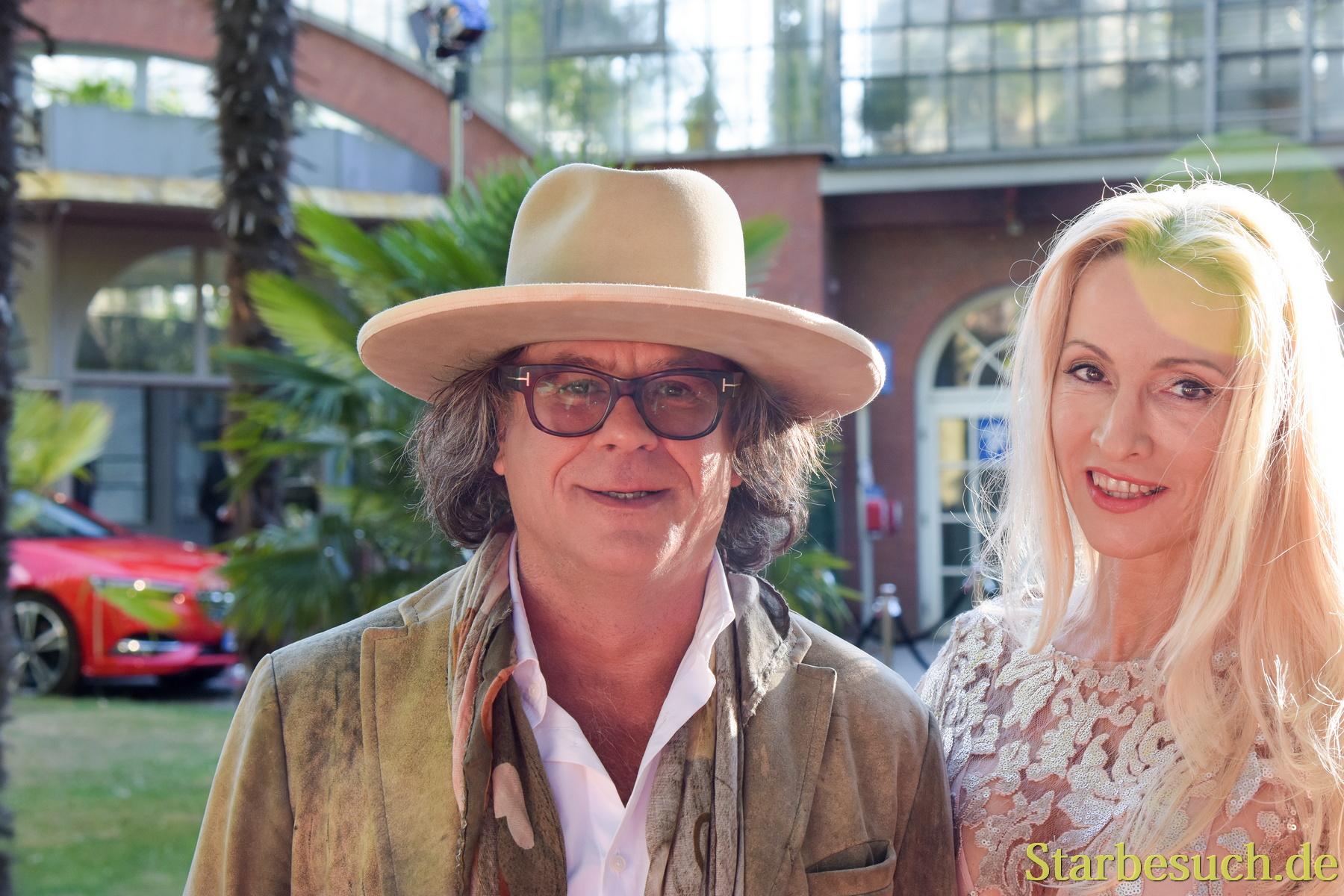 Frankfurt am Main, Germany, June 28th, 2017. Celebrities arriving at Bild Sommerfest, Palmengarten Frankfurt