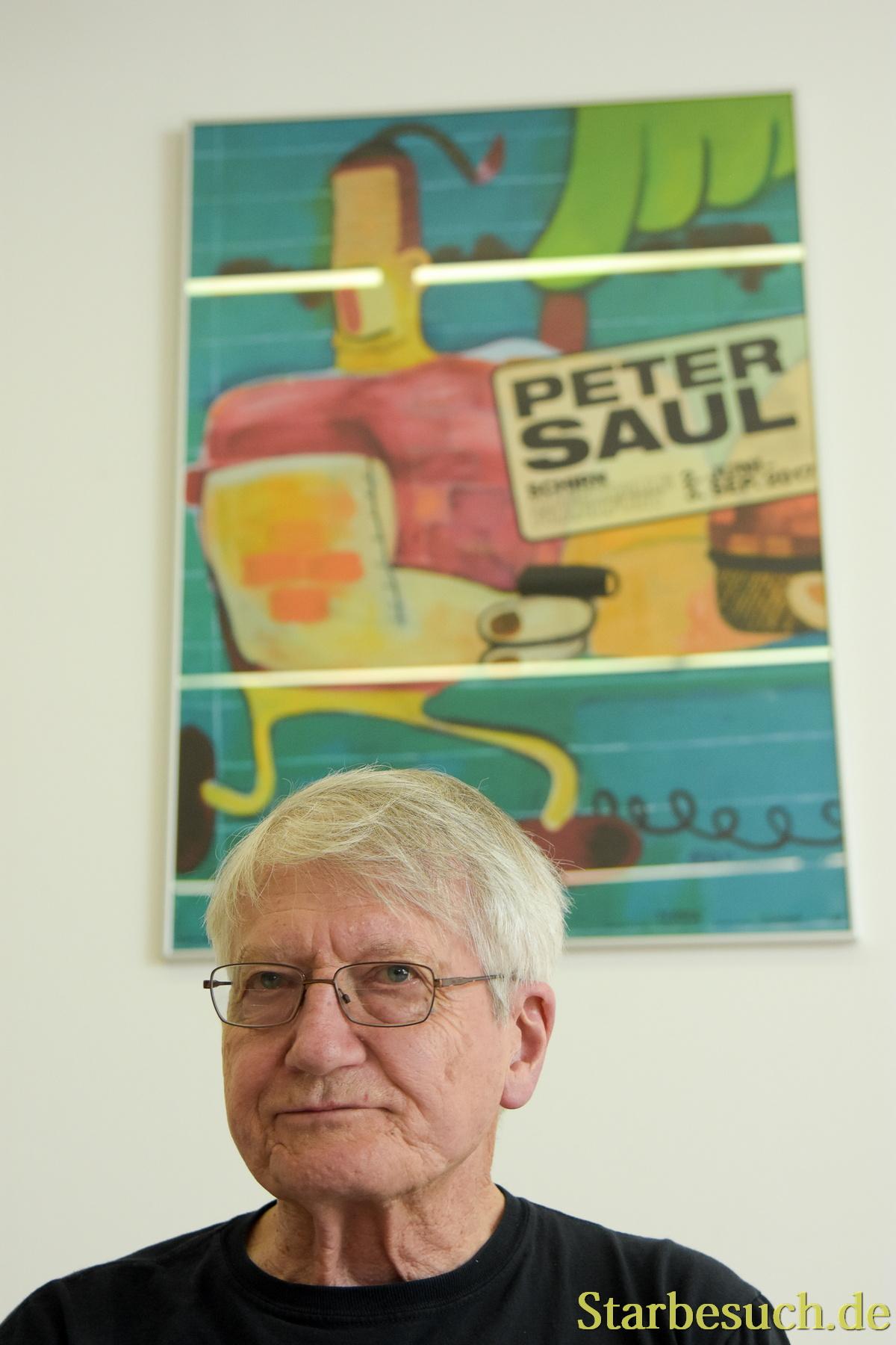 Frankfurt, Germany. 1st Jun, 2017. Peter Saul, US Artist, Exhibition Opening  at Schirn in Frankfurt Germany