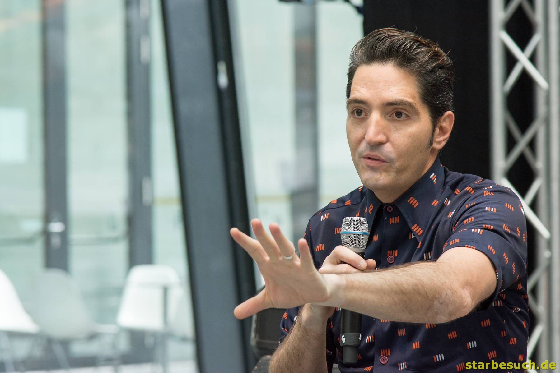 July 1st 2017. Stuttgart, Germany. David Dastmalchian at Comic-Con Stuttgart invites fans and cos-players to meet celebrities and comic artists in panels, Q&As, photo and signing sessions