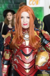 July 1st 2017. Stuttgart, Germany.  Cosplayers at Comic Con. Comic Con Stuttgart invites fans and cos-players to meet celebrities and comic artists in panels, Q&As, photo and signing sessions
