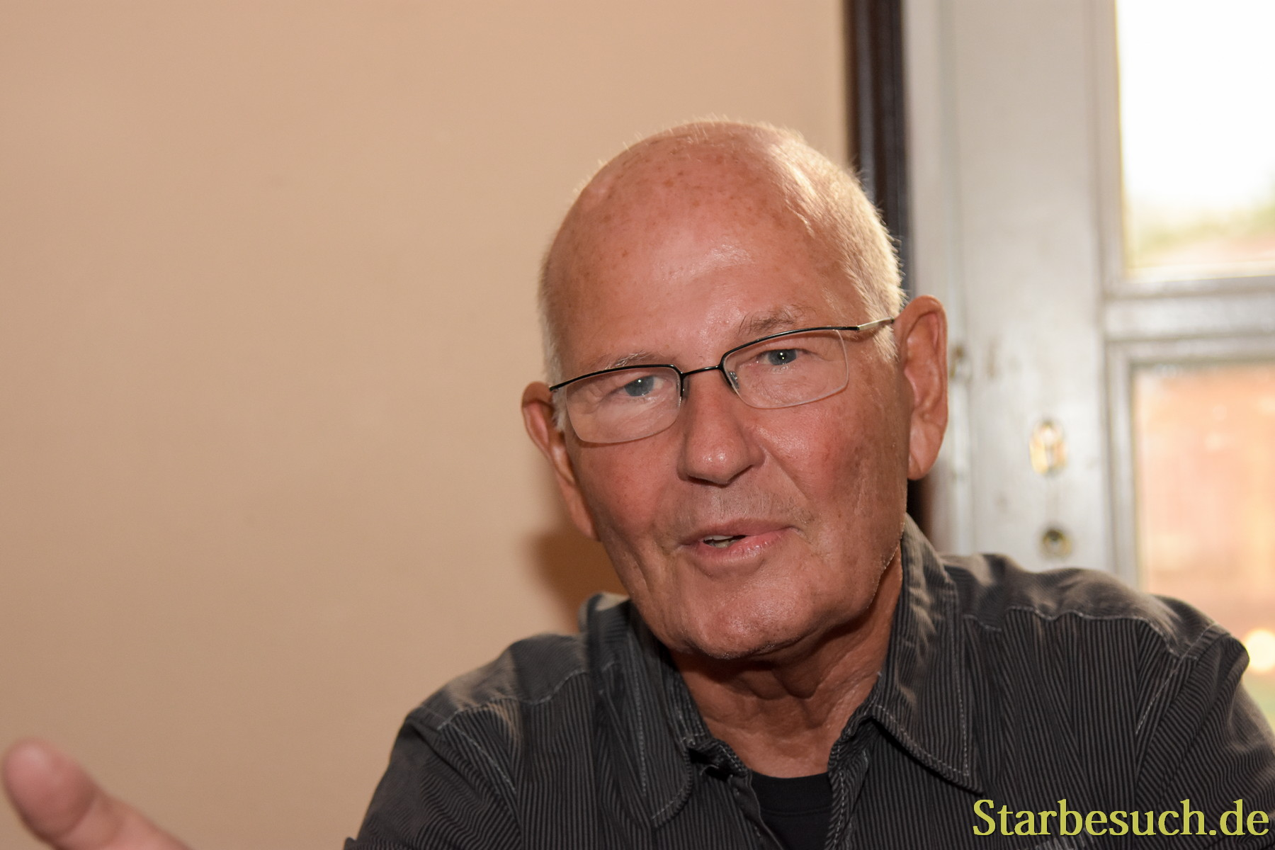 September 2nd, 2017. Mannheim, Germany. Ernst Meincke, german voice of Captain Picard in Star Trek: TNG, was the host of Startopia.´Star Trek Actors and Trekkies got together at this convention in Mannheim, Germany