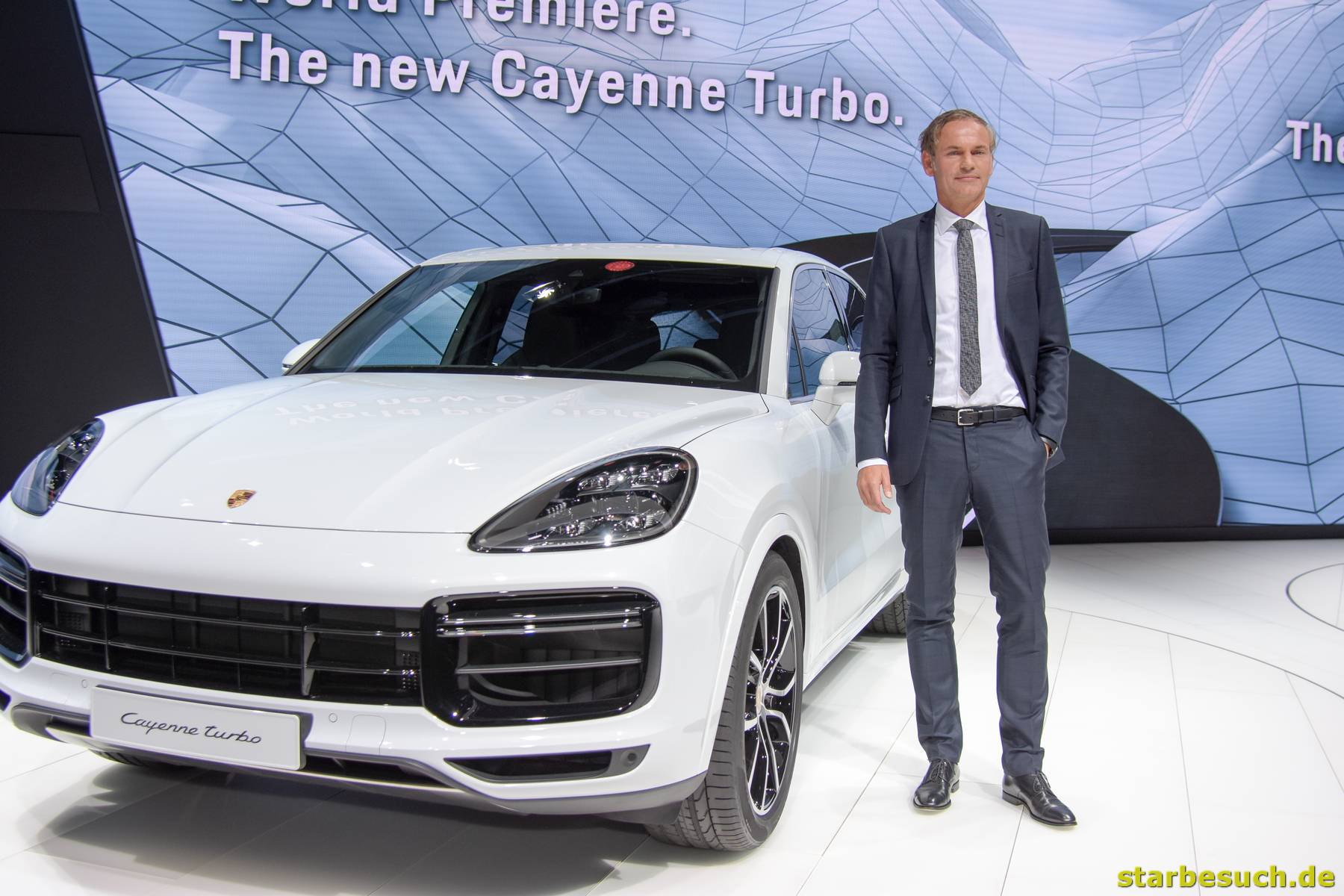 Dr Oliver Blume, Manager / CEO of Porsche