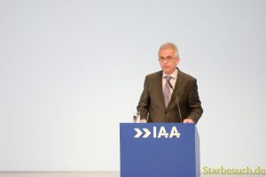 Peter Feldmann, IAA Eröffnungsfeier