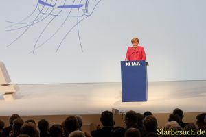 Angela Merkel, Eröffnungsrede