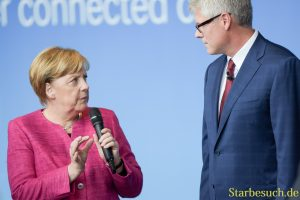 Angela Merkel bei Qualcomm