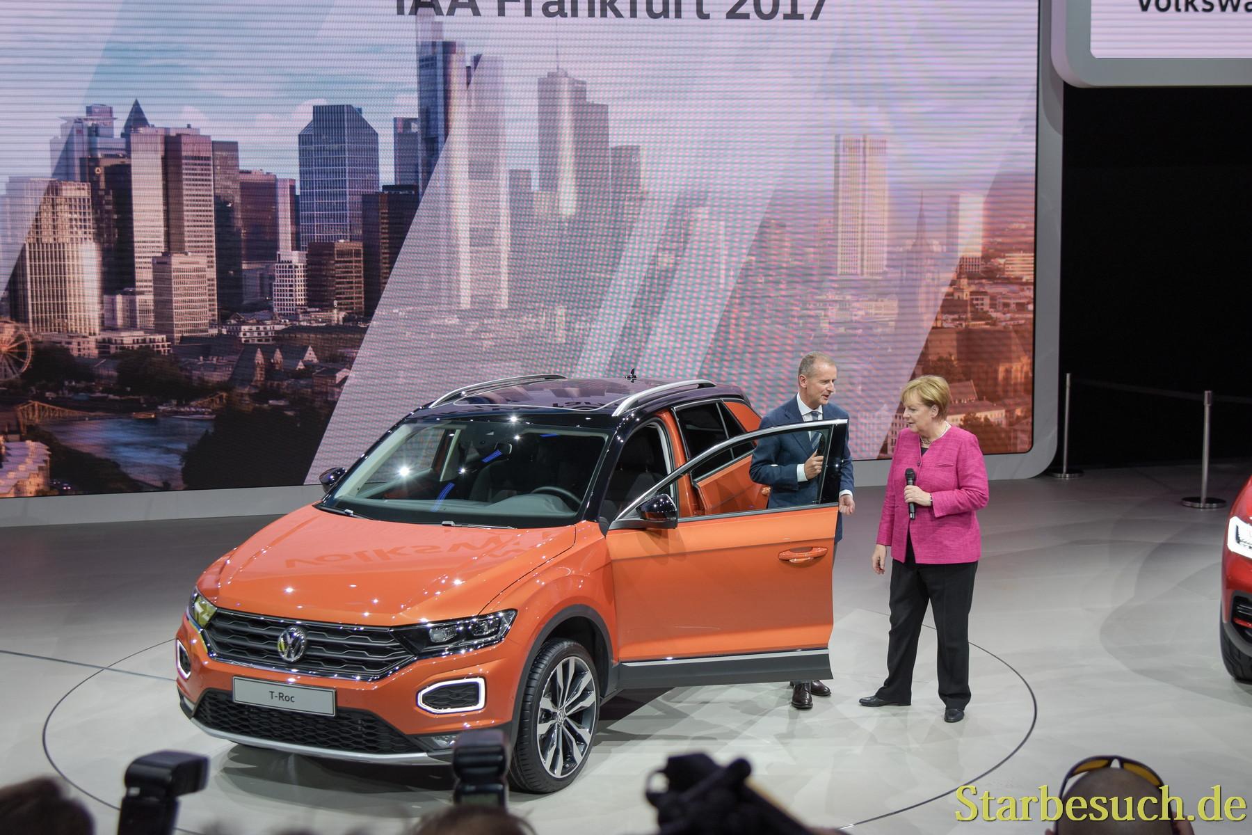 Angela Merkel bei VW
