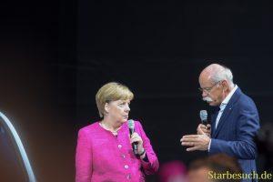 Angela Merkel, DieterZetsche von Daimler