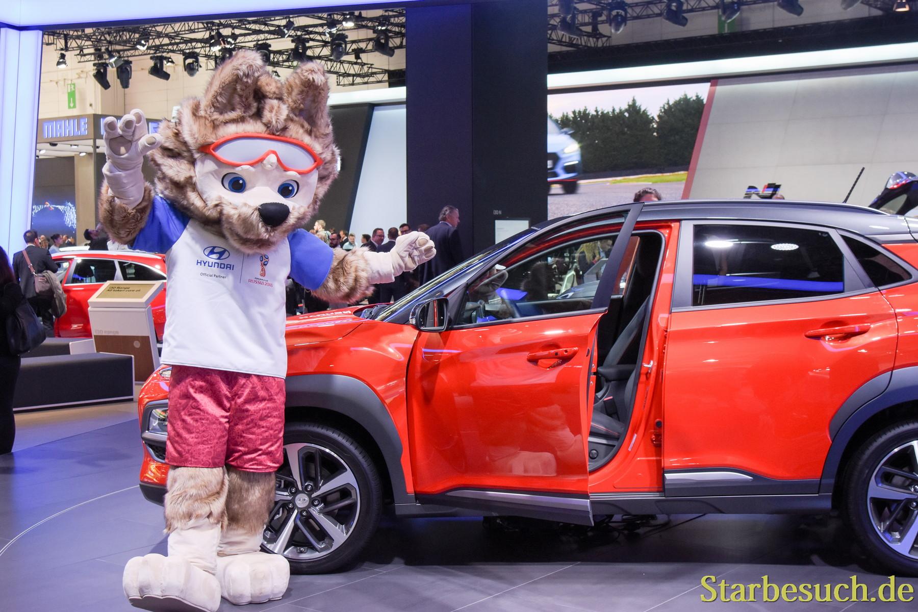 Hyundai mascot