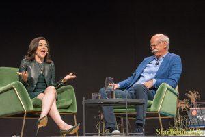 Sheryl Sandberg, COO Facebook & Dieter Zetsche, CEO Daimler AG