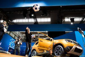 Mehmet Scholl bei Dacia