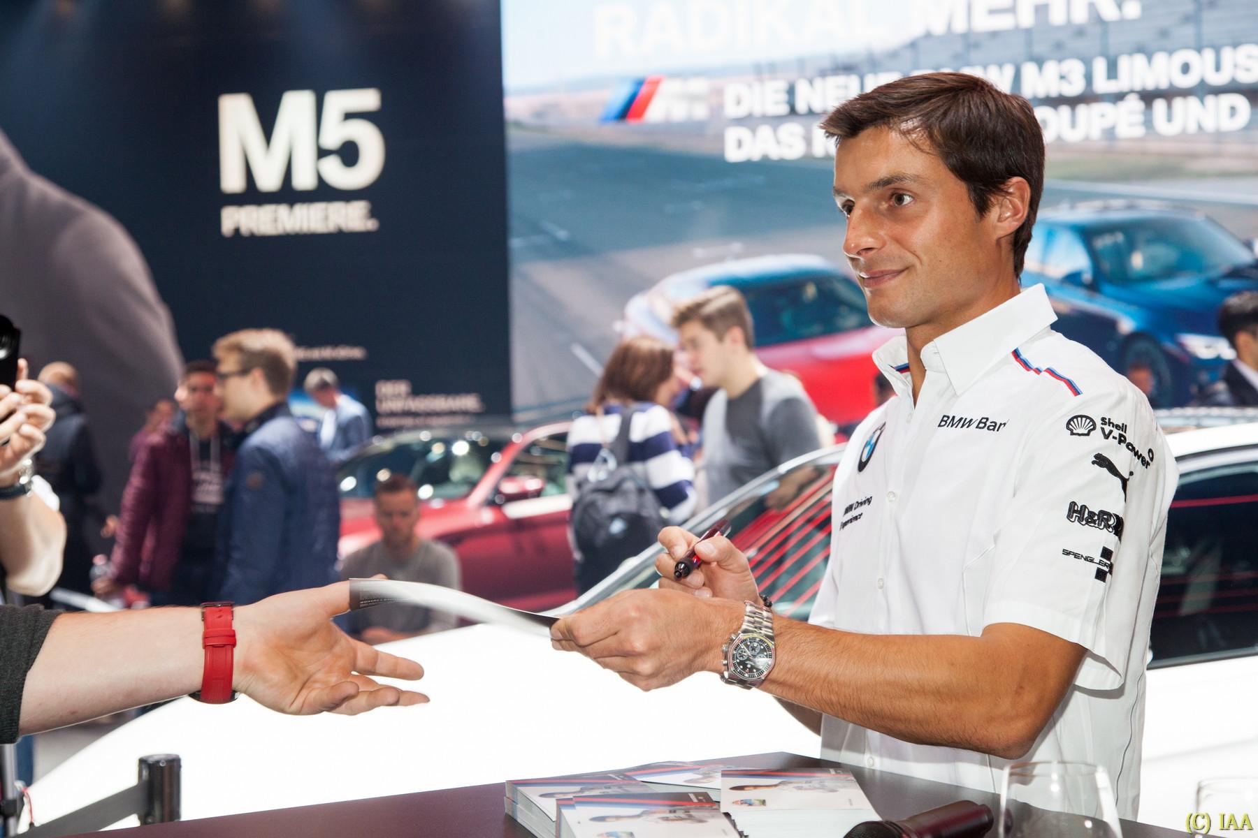Bruno Spengler, Rennfahrer