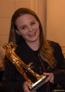 Jasna Fritzi Bauer, Newcomerin des Jahres, Hessischer Film- und Kinopreis 2017, Alte Oper Frankfurt/Main, Germany