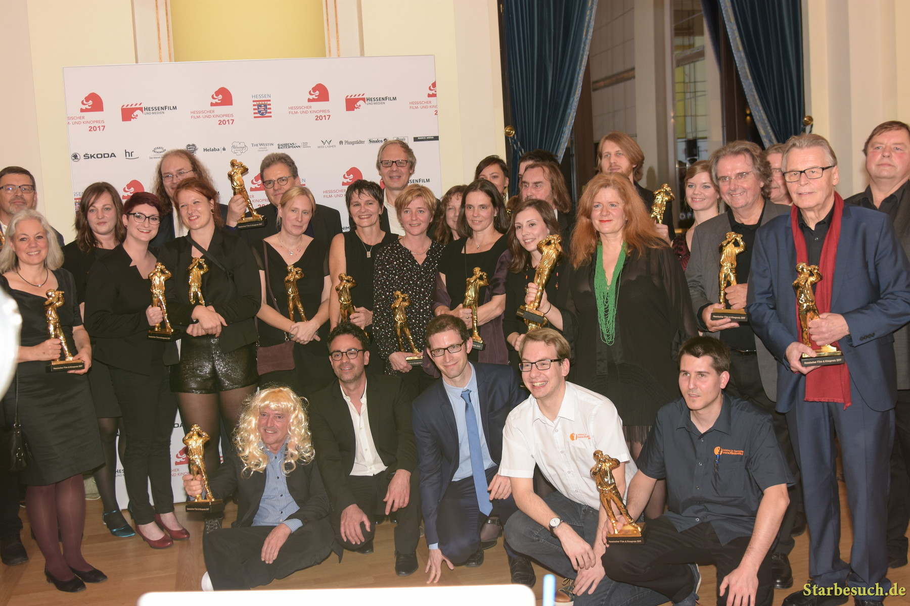 Cinema Award Winners, Hessischer Film- und Kinopreis 2017, Alte Oper Frankfurt/Main, Germany