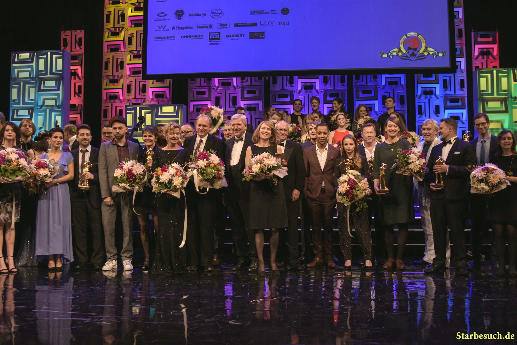 Award winners at the Hessischer Film- und Kinopreis 2017, Alte Oper Frankfurt/Main, Germany