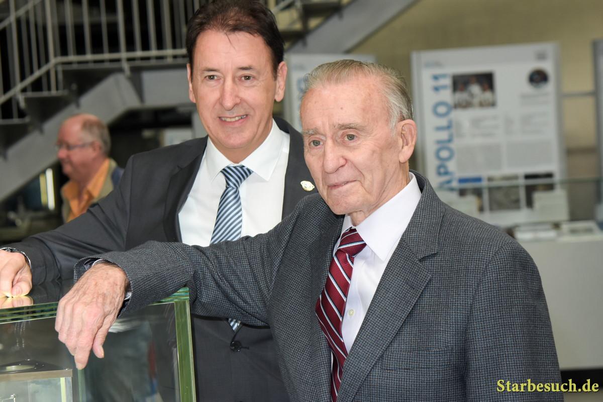Astronaut Walt Cunningham visits Technik Museum Speyer, Germany