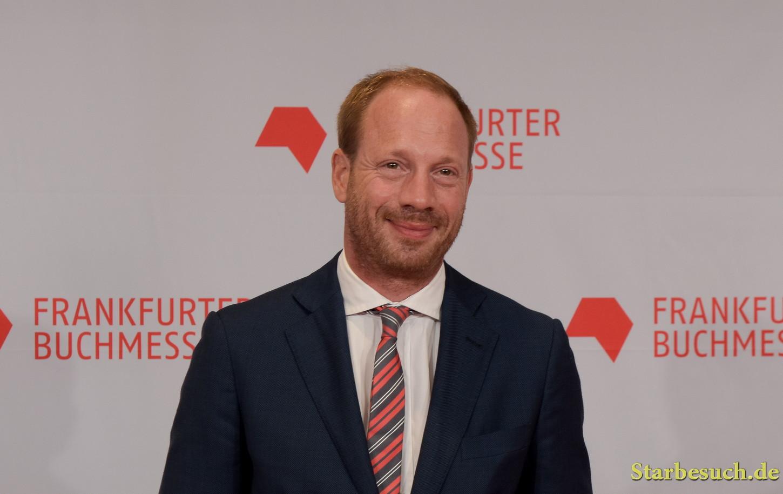 Johann von Bülow arriving on the red carpet for the Frankfurt Bookfair / Buchmesse Frankfurt 2017