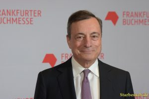 Mario Draghi arriving on the red carpet for the Frankfurt Bookfair / Buchmesse Frankfurt 2017
