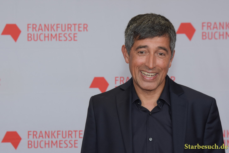 Ranga Yogeshwar arriving on the red carpet for the Frankfurt Bookfair / Buchmesse Frankfurt 2017