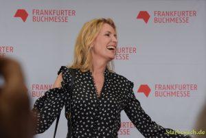 Maria Furtwängler arriving on the red carpet for the Frankfurt Bookfair / Buchmesse Frankfurt 2017