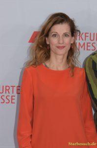 Judith Rosmair on the red carpet for the Frankfurt Bookfair / Buchmesse Frankfurt 2017