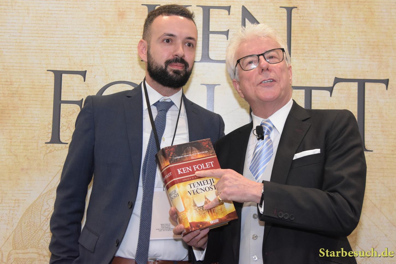 Ken Follett, international press conference at Frankfurt Bookfair / Buchmesse Frankfurt 2017