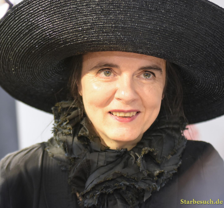 Amelie Nothomb, belgian writer, reading & signing in Hugendubel Frankfurt / Main, Germany