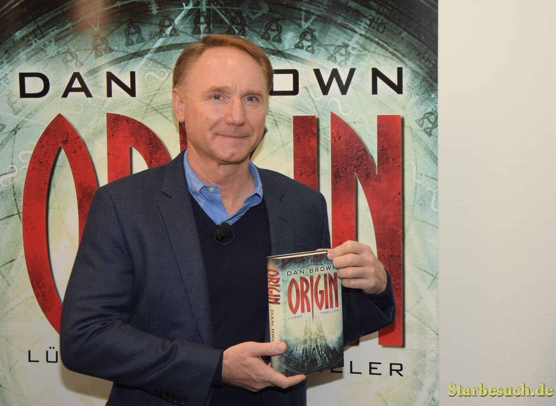 Dan Brown presents his newest book 'Origin' at Frankfurt Bookfair / Buchmesse Frankfurt