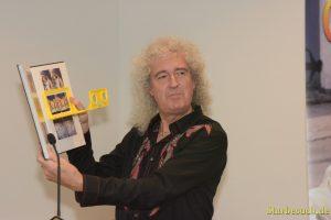 Brian May, Queen quitarist, presents the german edition of 'Queen in 3D' at Frankfurt Bookfair / Buchmesse Frankfurt 2017