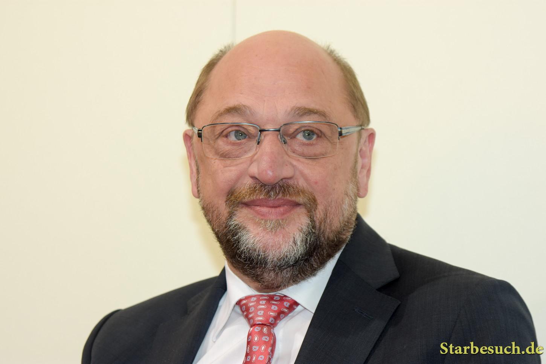 Martin Schulz, german politician (SPD), at the Frankfurt Bookfair / Buchmesse Frankfurt 2017