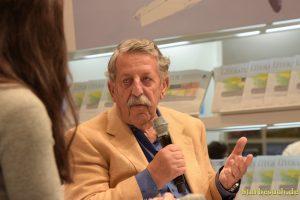 Ulrich Kienzle during an interview at the Frankfurt Bookfair / Buchmesse Frankfurt 2017