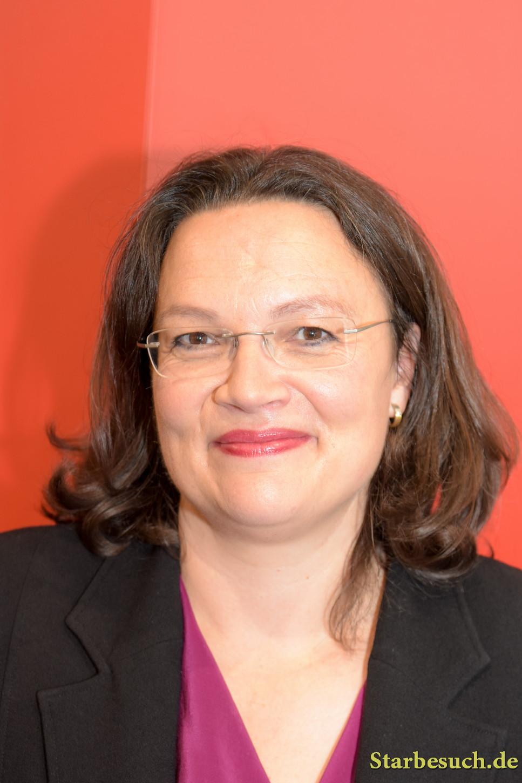 Andrea Nahles (* 1970), german politician (SPD), Frankfurt Bookfair / Buchmesse Frankfurt 2017