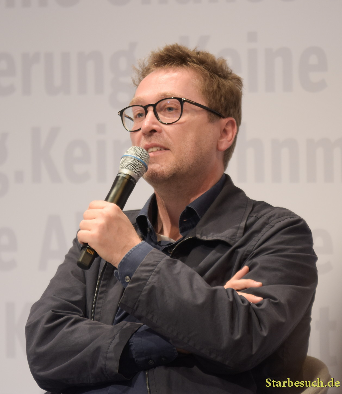 Jan Weiler, german author at Frankfurt Bookfair / Buchmesse Frankfurt 2017