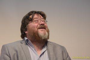 John Burnside, scottish writer, at Frankfurt Bookfair / Buchmesse Frankfurt 2017