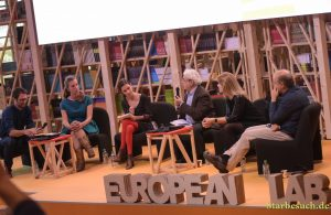 European Lab panel, Guest of Honor 2017, at Frankfurt Bookfair / Buchmesse Frankfurt 2017