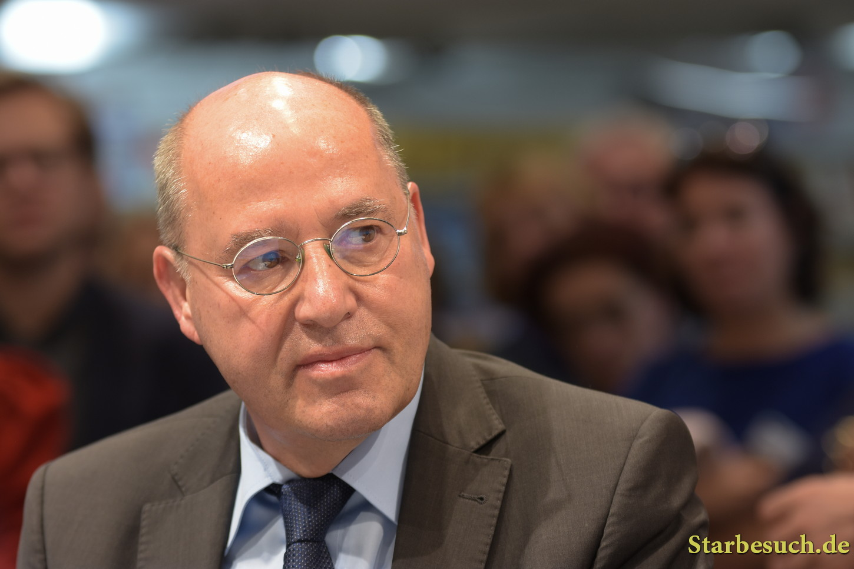 Gregor Gysi, politician and author, Frankfurt Bookfair / Buchmesse Frankfurt 2017