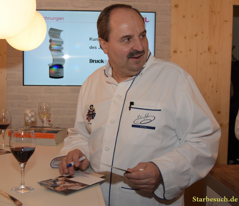 Johann Lafer, chef, Frankfurt Bookfair / Buchmesse Frankfurt 2017