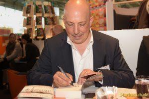 Veit Etzold, writer, Frankfurt Bookfair / Buchmesse Frankfurt 2017