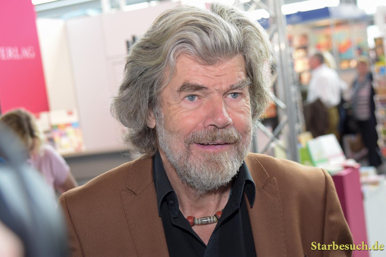 Reinhold Messner, moutaineer & explorer, Frankfurt Bookfair / Buchmesse Frankfurt 2017