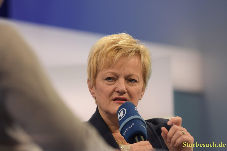 Renate Künast, politician, Frankfurt Bookfair / Buchmesse Frankfurt 2017