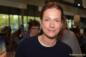 Claudia Michelsen, german actress, Frankfurt Bookfair / Buchmesse Frankfurt 2017