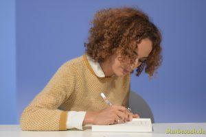 Leila Slimani, writer, at Frankfurt Bookfair / Buchmesse Frankfurt 2017