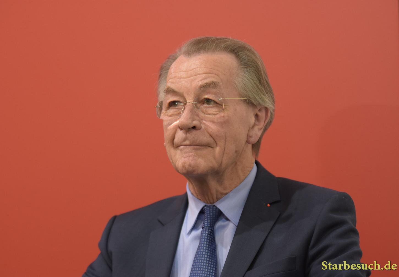 Franz Müntefering, german politician SPD, Frankfurt Bookfair / Buchmesse Frankfurt 2017