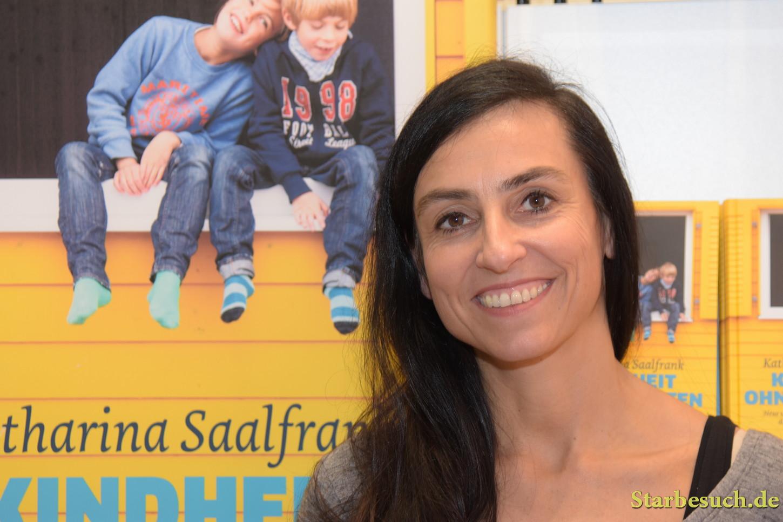 Katharina Saalfrank, best known as 'Die Super Nanny', Frankfurt Bookfair / Buchmesse Frankfurt 2017