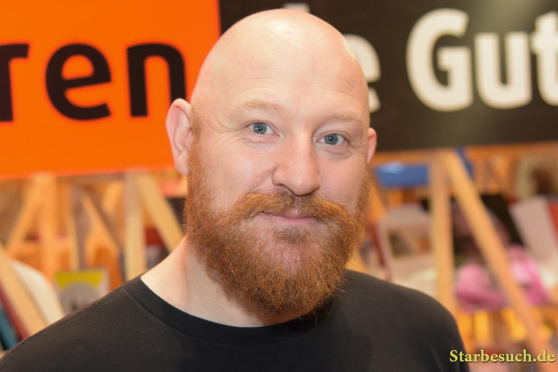 Yoann alias Yoann Chivard, comic artist, Frankfurt Bookfair / Buchmesse Frankfurt 2017