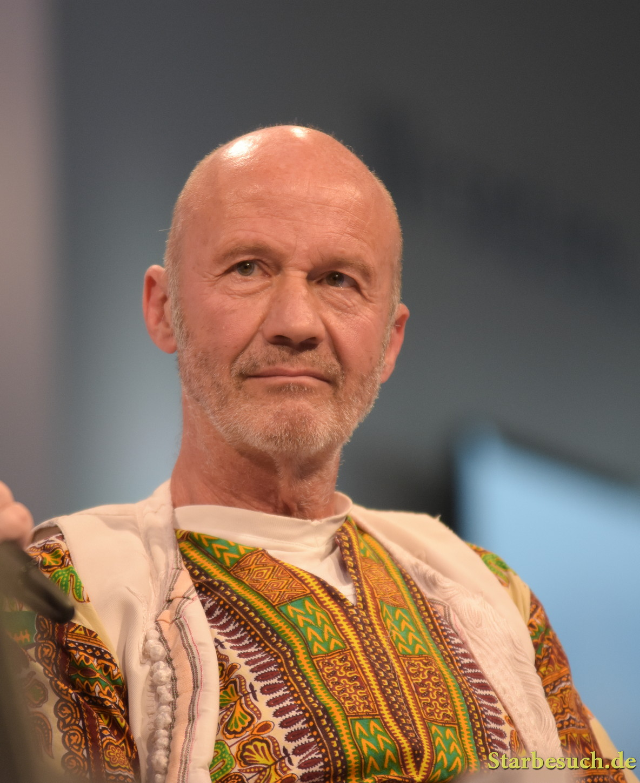 Christof Wackernagel, actor, author, Frankfurt Bookfair / Buchmesse Frankfurt 2017