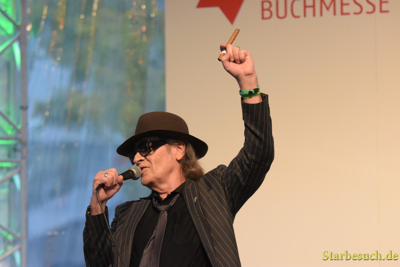 Udo Lindenberg live concert performance at Frankfurt Bookfair / Buchmesse Frankfurt 2017