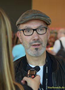 Jean-Yves Ferri, Asterix comic book writer, Frankfurt Bookfair / Buchmesse Frankfurt 2017