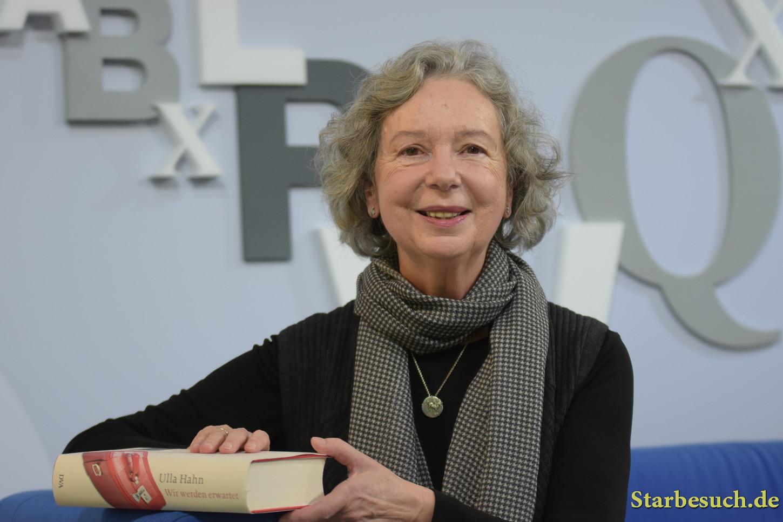 Ulla Hahn, german writer, Frankfurt Bookfair / Buchmesse Frankfurt 2017