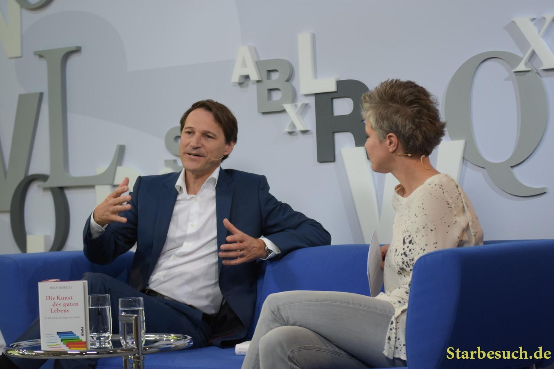 Rolf Dobelli, swiss writer, Frankfurt Bookfair / Buchmesse Frankfurt 2017