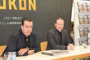 Till Lindenmann (Rammstein) and Joey Kelly (The Kelly Family) at Frankfurt Bookfair / Buchmesse Frankfurt 2017